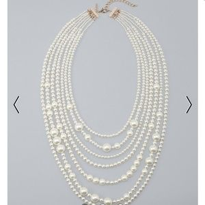 NWT-WhiteHouse Black Market Pearl Necklace